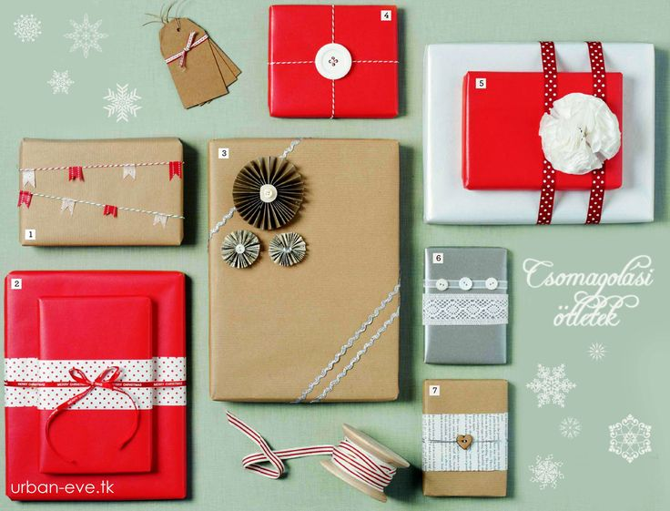 christmas gift wrapping ideas 1.