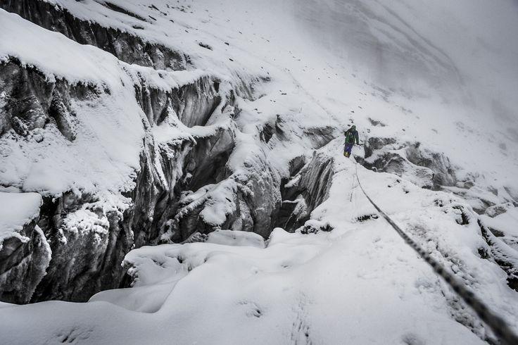 """Manaslu Ski Challenge 2014"" was the second event of the five-year project called Hic Sunt Leones.. photo: Marcin Kin Photography #suntleones #manaslu"