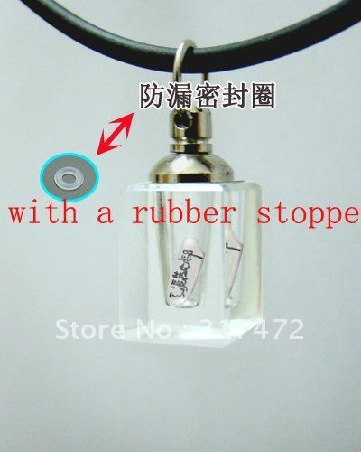 """""""$15 off per $150 order"""" Essential Oil Vial Pendants Screw Cap With a Rubber Stopper-in Pendant Necklaces from Jewelry on Aliexpress.com"""