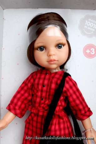 Кукла Кэрол с серыми глазками, арт. 04500, Паола Рейна (Paola Reina) Лисичанск - изображение 1