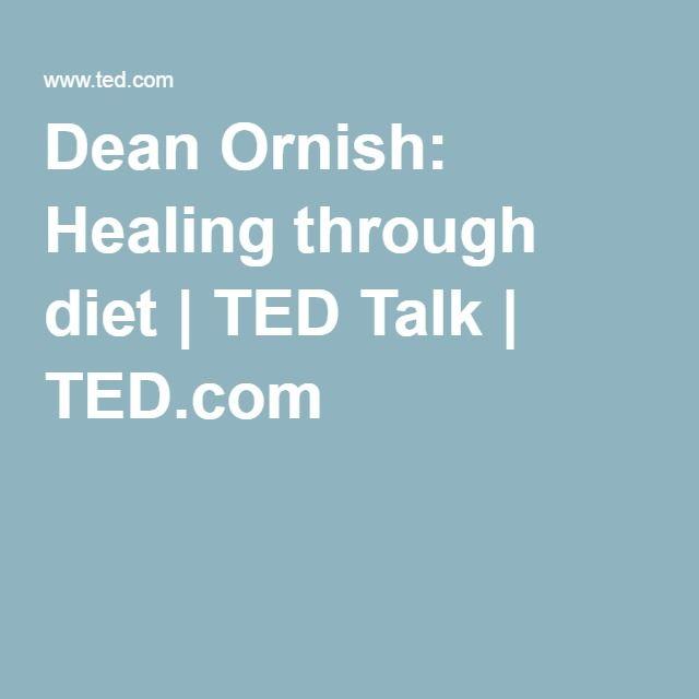 Dean Ornish: Healing through diet | TED Talk | TED.com