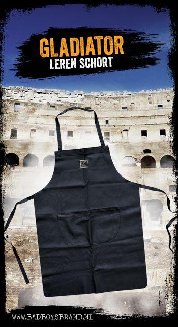 Gladiator - Leren schort - 100% made in jail