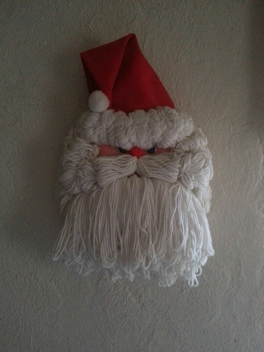 Santa made out f a Clorox bottle. | My Crafts | Pinterest ...