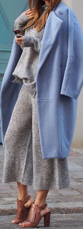 Knit Combo: Whistles // Coat: Maje // Heels: Pour La Victoire