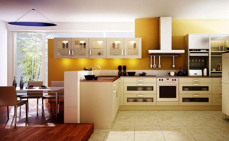 Desain Interior Dapur Modern   Griya Indonesia