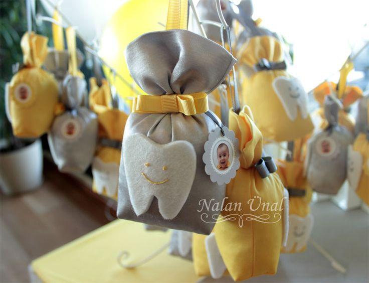 Sarı-Gri Lavanta Keseleri