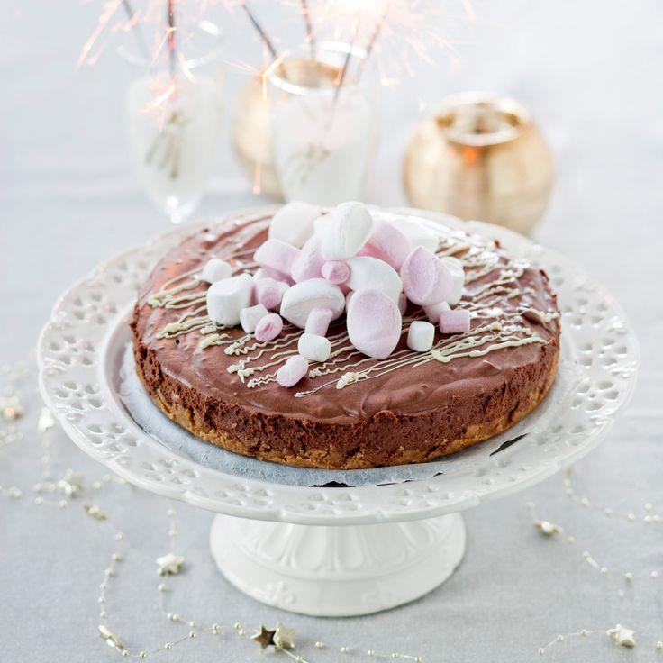 Suklaajuustokakku | K-ruoka #ystävänpäivä