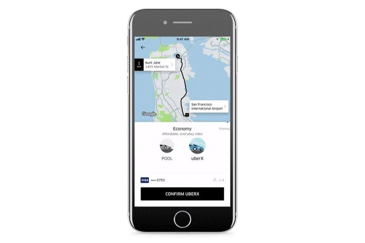 You can now hail Uber rides for friends
