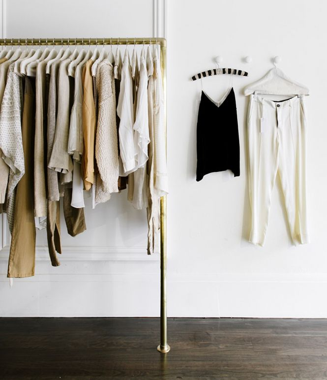 Love this concept: Living life with fewer, better things via Cuyana. Quality over quantity.