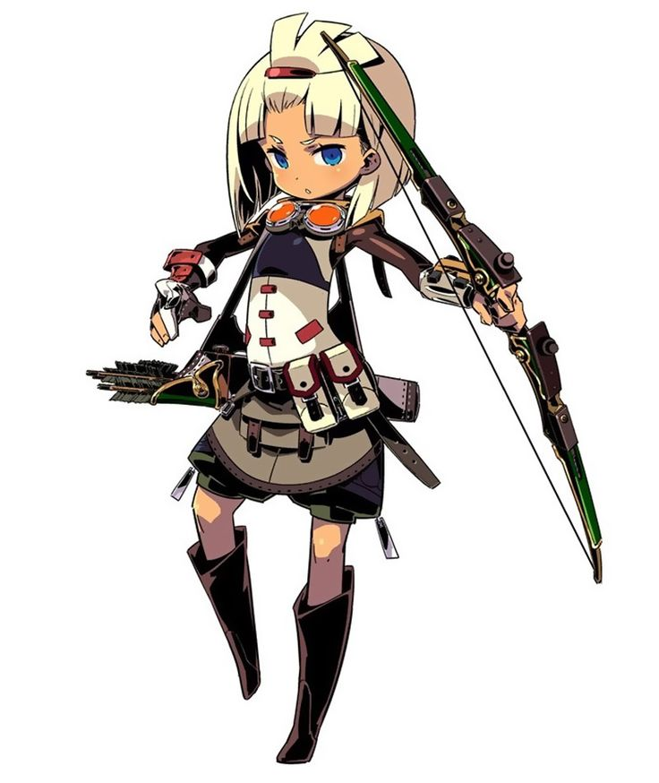 Sniper Female from Etrian Odyssey IV: Legends of the Titan