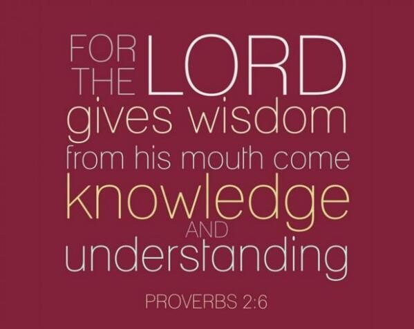 the explanation of the wisdom of the lord in the book of proverbs Summary solomon, ingobertus (ca 880) the book of proverbs is a collection of   some of the material probably originated as folk wisdom, circulating in the family   in the psalms is the praise of god in heaven, the chief concern of proverbs is.