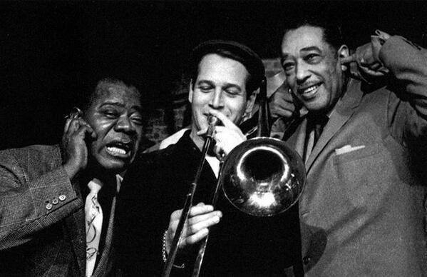 Louis Armstrong, Paul Newman, & Duke Ellington, 1961 pic.twitter.com/HEqwpiYakd