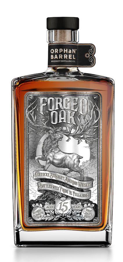 Forged Oak - 15 year old Kentucky Straight Bourbon Whiskey distilled at New Bernheim Distillery, Louisville
