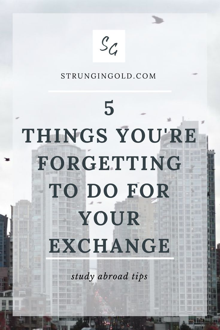 5 Things You're Forgetting to do for Your Exchange