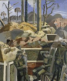 Spring in the Trenches, Ridge Wood, 1917 (1918) (Art. IWM ART 1154) - Paul Nash (artist) - Wikipedia, the free encyclopedia