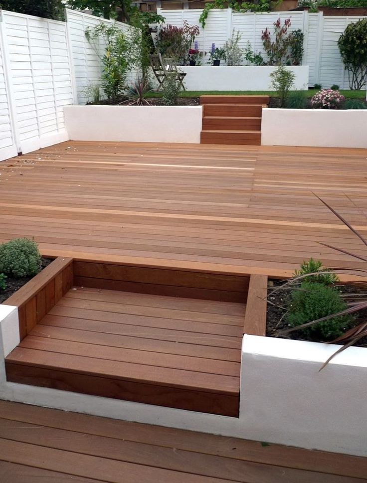 Small Decked Gardens   Google Search