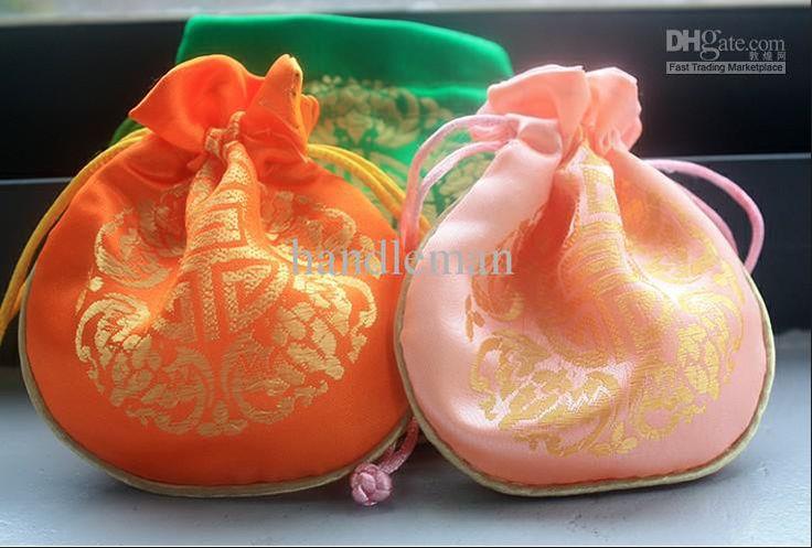 китайские любовные чувства парчи вышивать нулевой кошелек радостный конфеты мешок оптовые новые