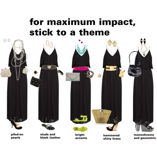 """""""for maximum impact, stick to a theme"""" by dana-forlano on Polyvore"""
