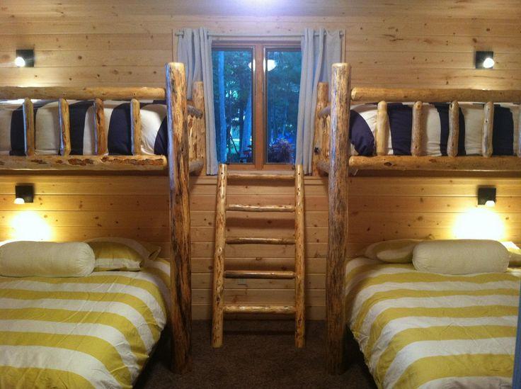 Cabin bunk room ideas