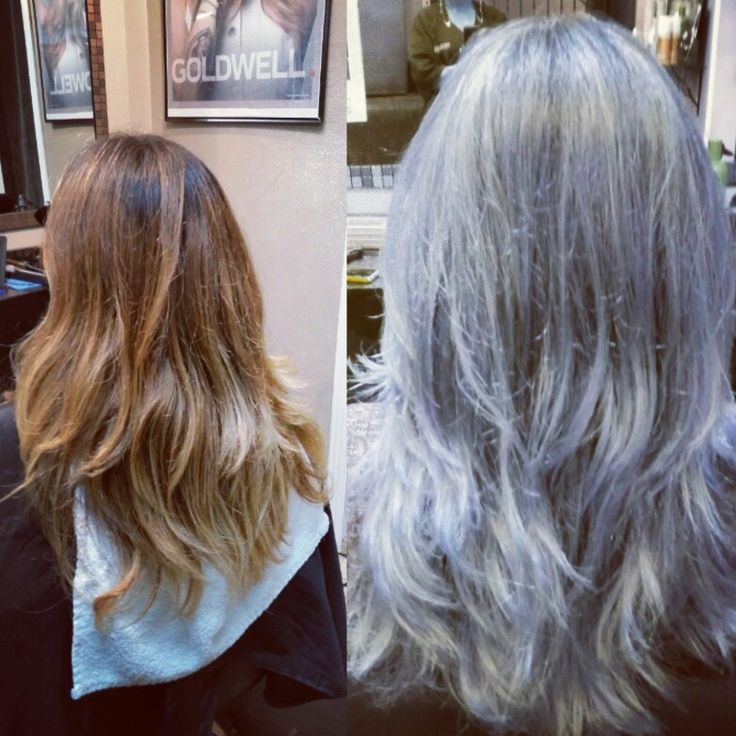 Cooling it down for fall, frosty silver makeover, cool and classy.