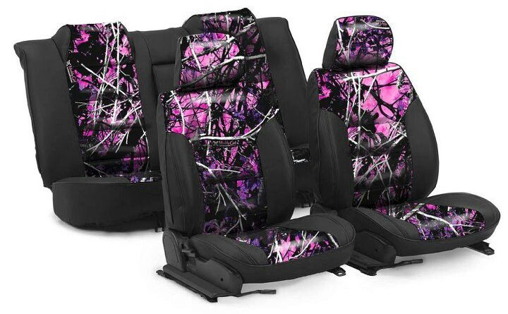 Muddy girl camo seat covers