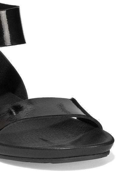 Pedro Garcia - Joline Patent-leather Sandals - Black - IT40.5