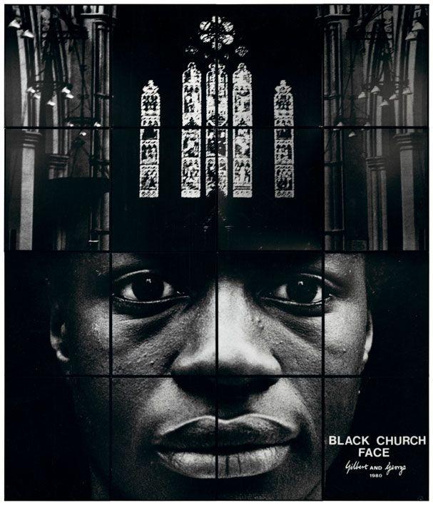 Black Church Face