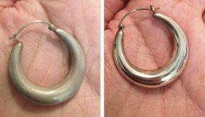 Dit is dé makkelijkste manier om je zilveren sieraden weer schoon te krijgen