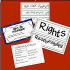 This is a pocket chart sorting activity to use in whole or small group to review some Rights and Responsibilities for being US Citizens.  There is ...