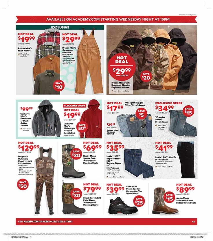 Academy Sports Black Friday Ad Scan, Deals and Sales 2019