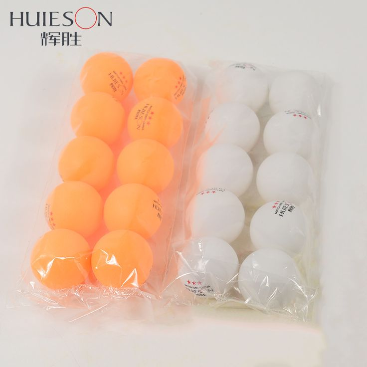 Huieson 10pcs New Material Table Tennis Balls 3 Star D40+mm ABS Plastic Ping Pong Balls Match Standard Table Tennis Accessories