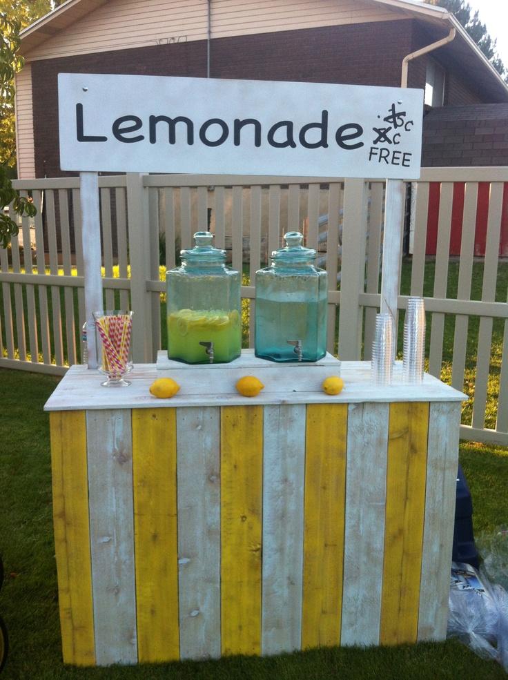 118 Best Lemonade Stands Images On Pinterest Lemonade