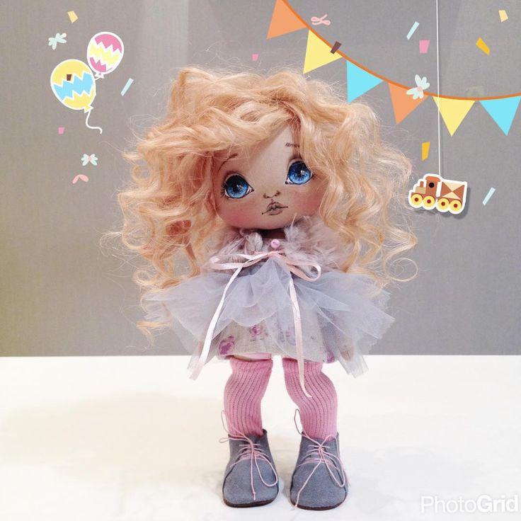 Готова куколка;) #кукла #куклы #купить #олли #artdoll #handmade #dolls #doll #ручнаяработа #авторскаякукла
