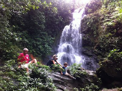 Waterfall Hike in Placencia, Belize