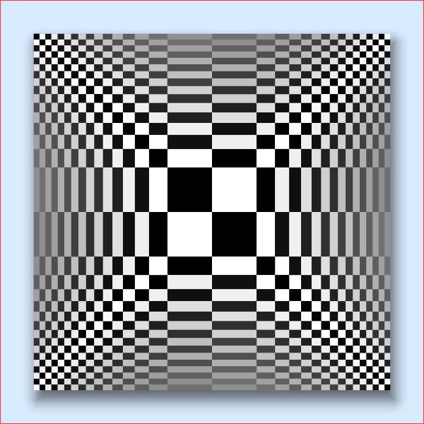 Hypothesis art from pure mathematics math mathematics for Geometric illusion art