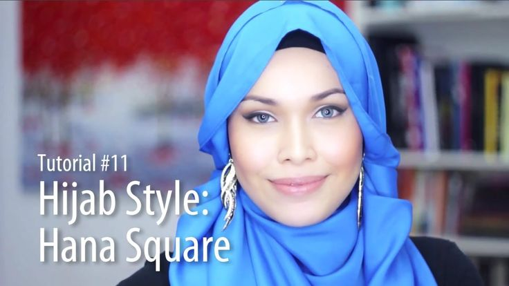 Looks really cool and easy to do! [Adlina Anis] Hijab Tutorial 11 | The Hana Square