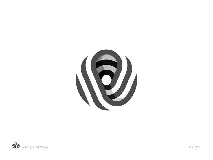 Letter O by Satriyo Atmojo.  Logo, logo design, graphic design, typography, lettering, logotype, monogram, symbol, icon, design