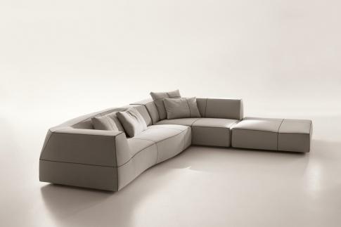 Living :: Sofas :: Bend-Sofa - | Space Furniture