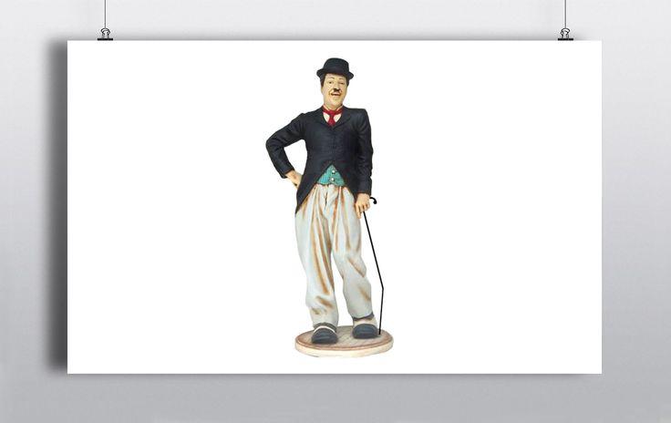 Lifesize Charlie Chaplin Statue. Made of resin. http://www.prophouse.ie/portfolio/charlie-chaplin/