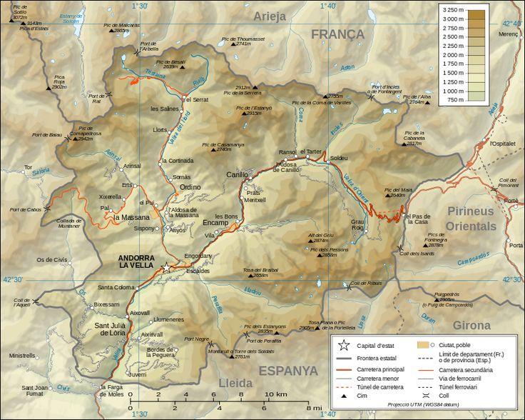 山がちなアンドラの地勢 ◆アンドラ - Wikipedia http://ja.wikipedia.org/wiki/%E3%82%A2%E3%83%B3%E3%83%89%E3%83%A9 #Andorra