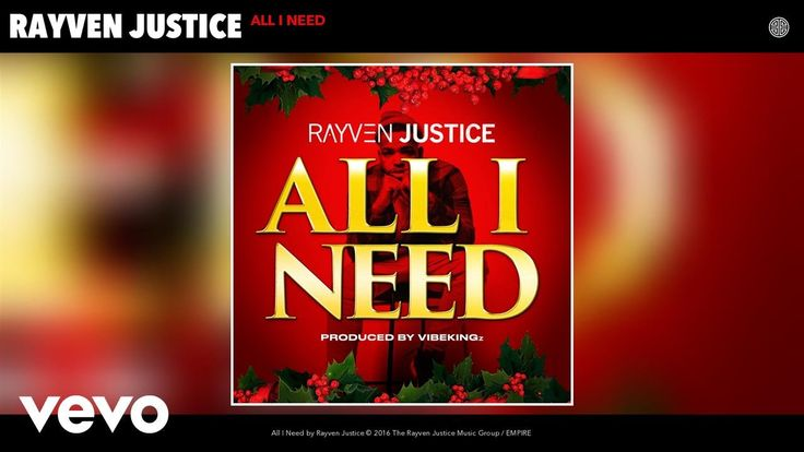 Rayven Justice - All I Need (Audio) - http://getmybuzzup.com/rayven-justice-all-i-need-audio/