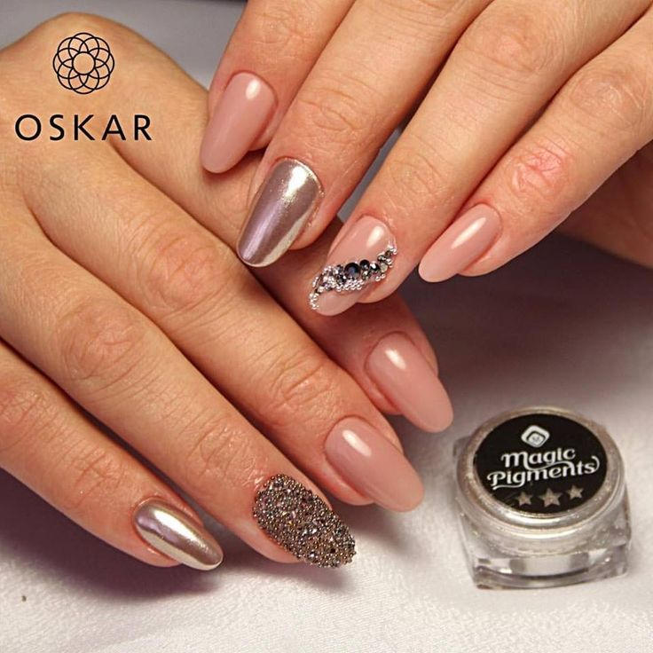 Crystal Chrome Nails: 56 Best Images About Nail Trends On Pinterest