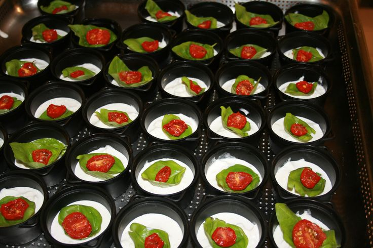 wow finger food tricolore!