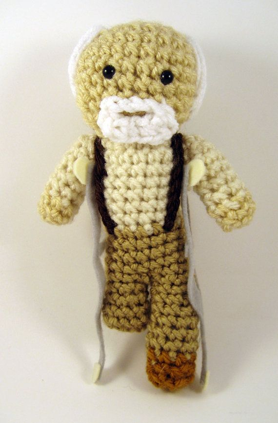The Walking Dead Hershel Greene Amigurumi Crocheted Plush toy
