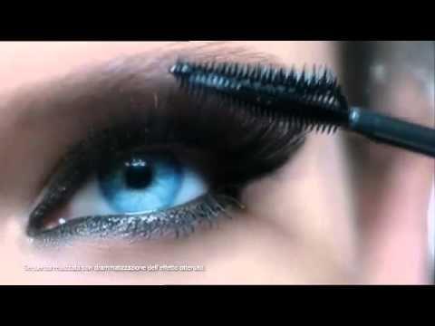 L'Oreal Mascara Ciglia Finte Farfalla Spot 2013 Bianca Balti  source...