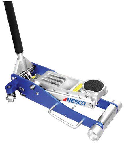 Nesco Tools 2203 Aluminum Low Profile Floor Jack 3 Ton