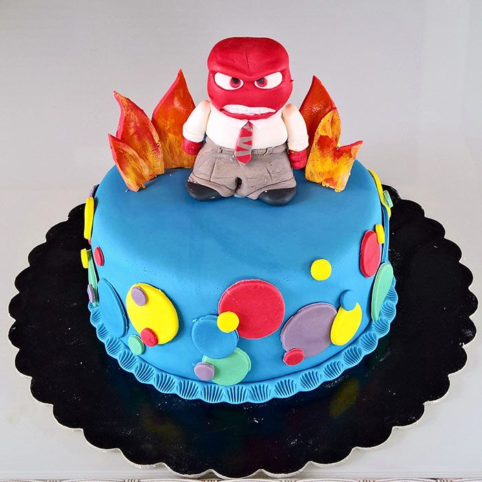 Torta Rabbia inside out!