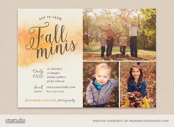 411 Best Photography Flyer Template Images On Pinterest | Flyer