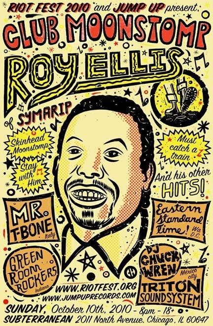 Roy Ellis of Skinhead Reggae Superstars Symarip to perform at Riot Fest in Chicago on October 10th