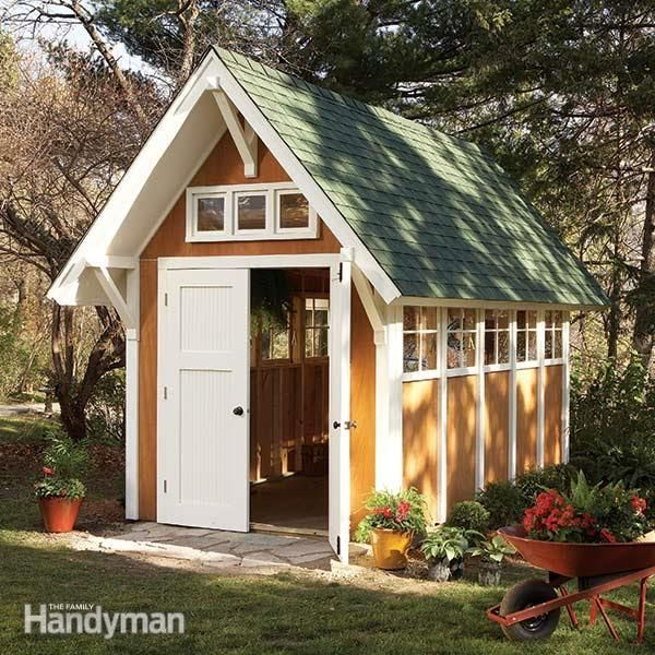 Shed Plans Storage Shed Plans The Family Handyman Sheds The Family Handyman 2014shed The Family Handyman 2016 S In 2020 Backyard Sheds Shed Design Diy Shed Plans